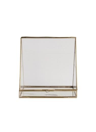 Warm Design Cam Teraryum Altın